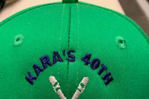 Custom Event Hat Embroidery